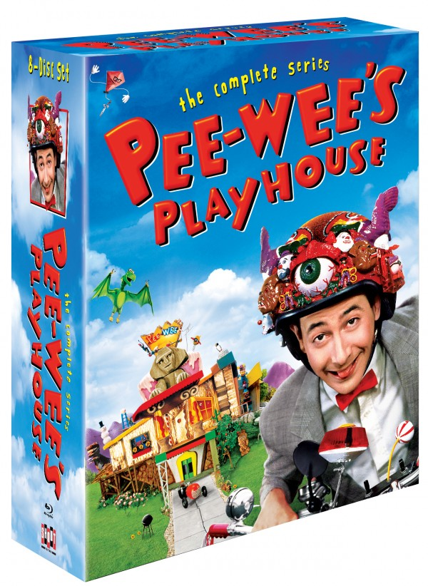 Pee-wee's Playhouse: The Complete Series Blu-ray box set releasing from Shout! Factory on October 21, 2014