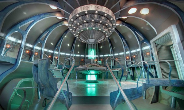 Journey onto the actual working set of Doctor Who