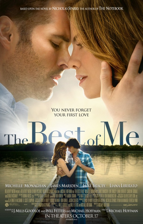 THE BEST OF ME one-sheet movie poster