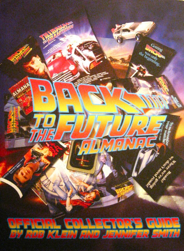 The art of the Back to the Future Almanac dust jacket