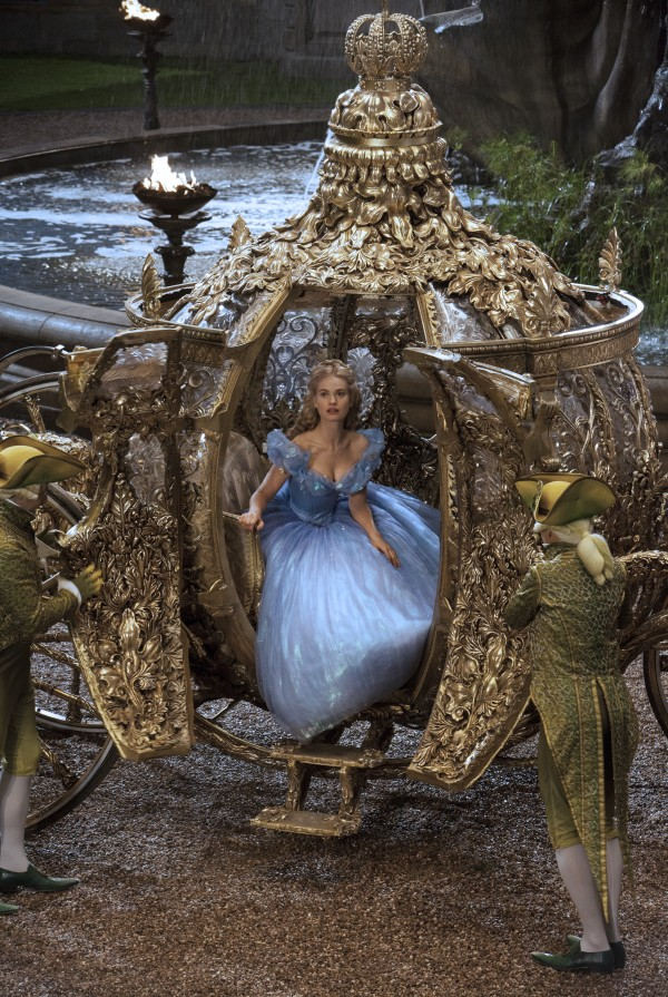 Lily James is Cinderella in Disney's live-action feature inspired by the classic fairy tale,