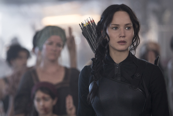 Jennifer Lawrence stars as Katniss Everdeen