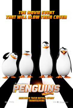 PENGUINS MAGAGASCAR poster