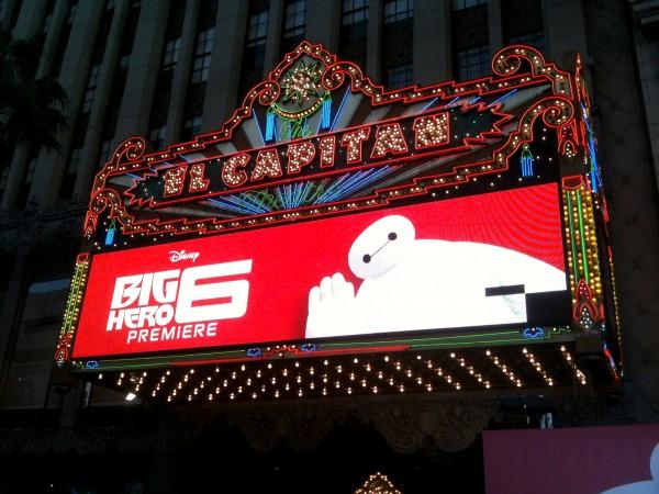 BIG HERO 6 Premiere at the El Capitan