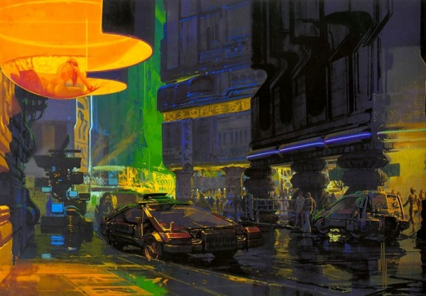 Bladerunner Concept Art from Syd Mead
