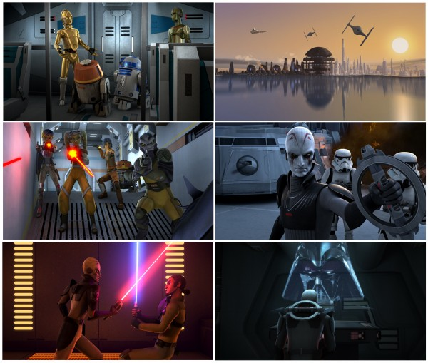 STAR WARS REBELS MONTAGE