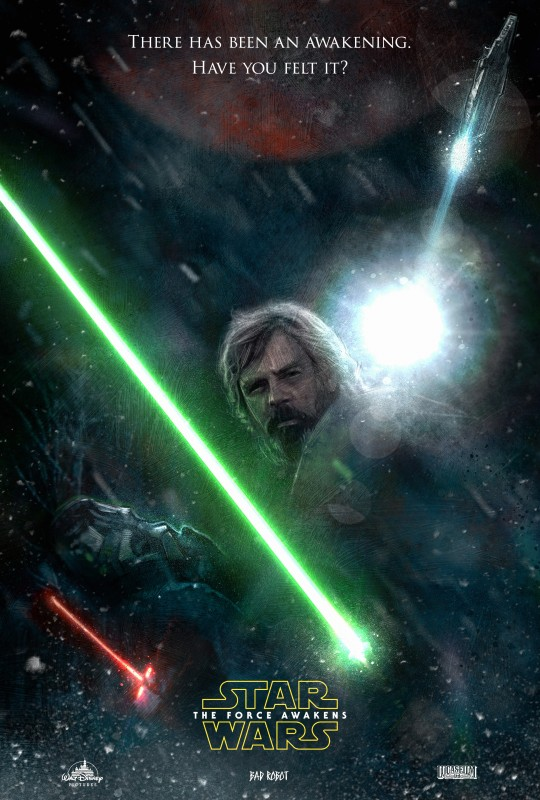 Paul Shippers Fan Poster for STAR WARS: The Force Awakens Teaser
