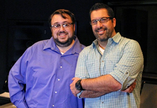 BTM Host Chad Frye and Composer Christopher Lennertz