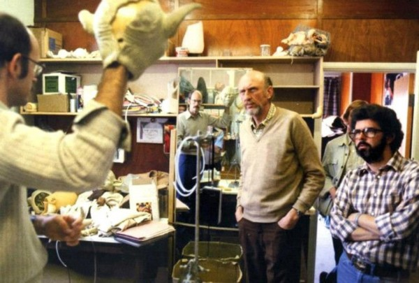 Frank Oz with Lucas and Kershner