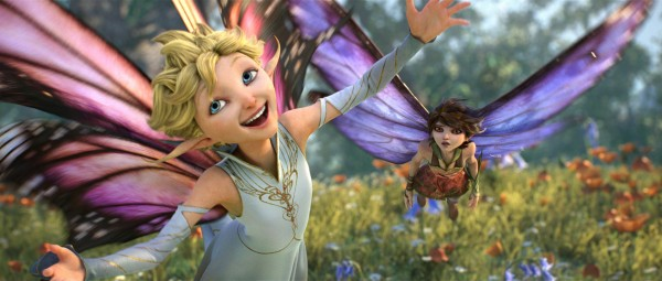 "Dawn (voice of newcomer Meredith Anne Bull) is crazy for love, while her sister Marianne (voice of Evan Rachel Wood) takes a decidedly different stance in ""Strange Magic,"" a madcap fairy tale told through popular songs from the past six decades."