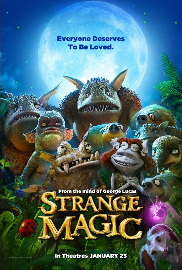 One Sheet for STRANGE MAGIC