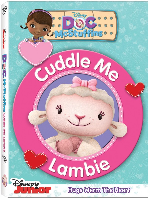 We're Celebrating the release of CUDDLE ME LAMBIE with a fun Prize Pack of DOC McSTUFFINS Plates, Utensils and More!