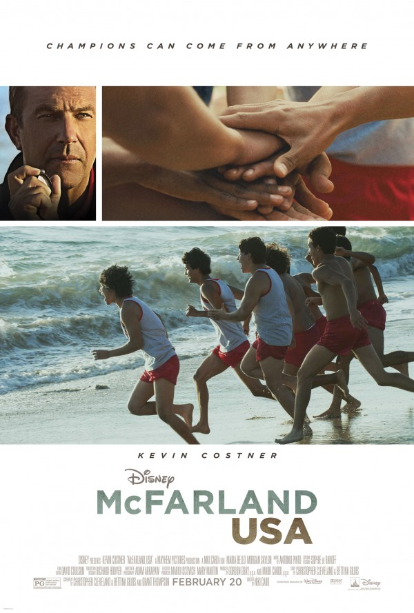 Official McFarland, USA one-sheet movie poster