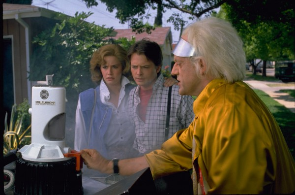 Mr Fusion as see in in the opening of Back to the Future part II