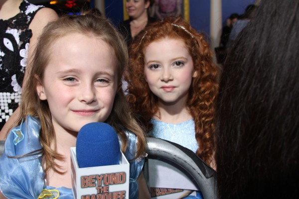 "Lindalee and Francesca Capaldi of Disney Channels ""Dog with a Blog"""