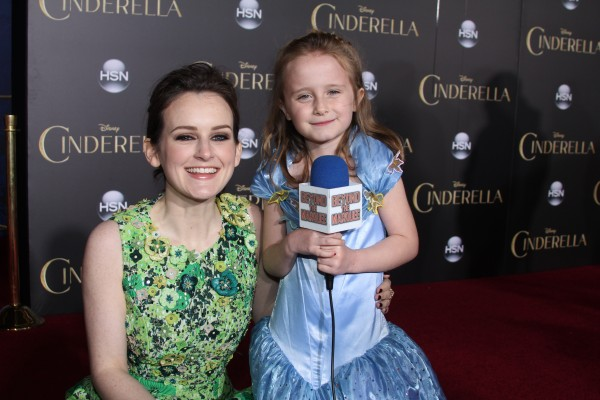 Lindalee and Sophie McShera (Drizzella)