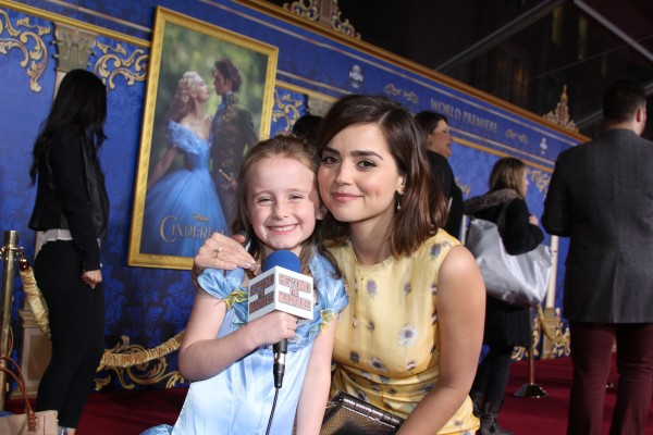 Lindalee and Doctor Who's Jenna Coleman (Clara)