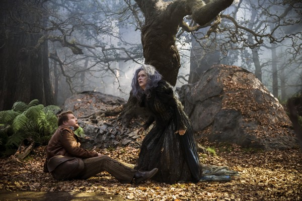"James Corden and Meryl Streep star in ""Into the Woods"""