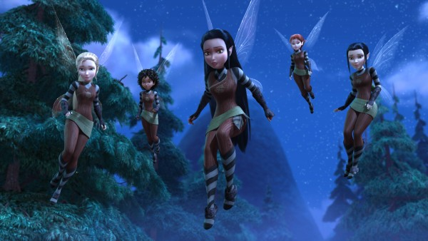 """TINKER BELL AND THE LEGEND OF THE NEVERBEAST"" Pictured: Scout Fairies"
