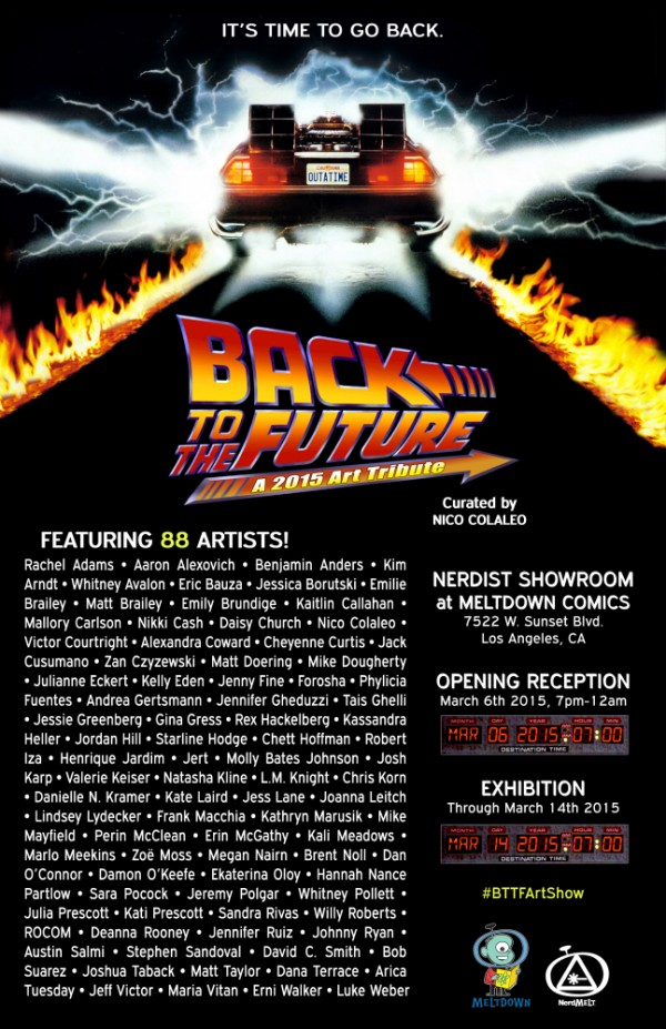 BACK TO THE FUTURE: A 2015 Art Tribute