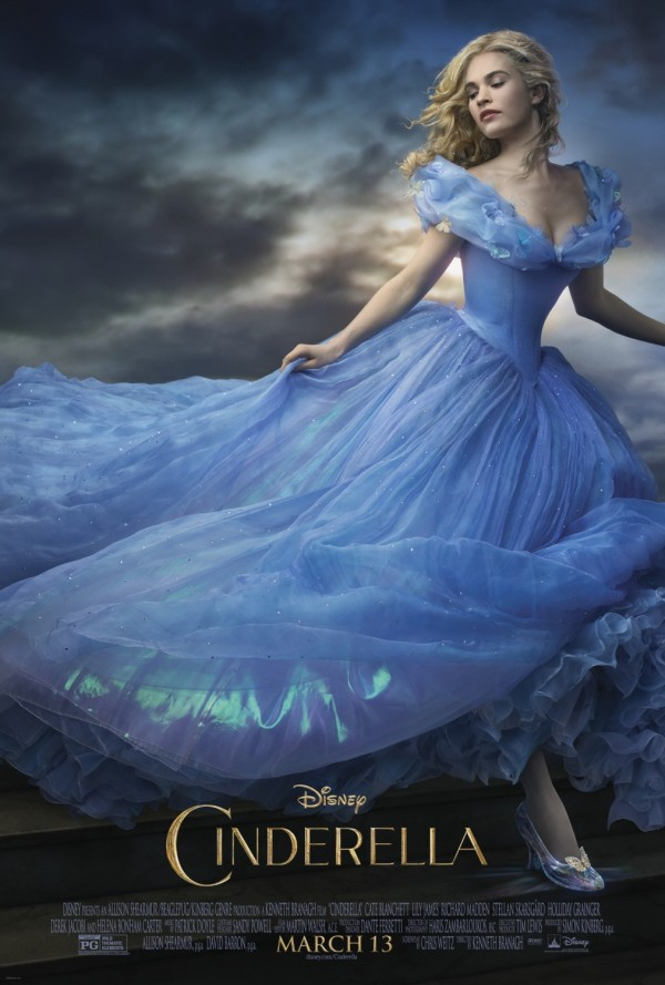 One Sheet poster for CINDERELLA