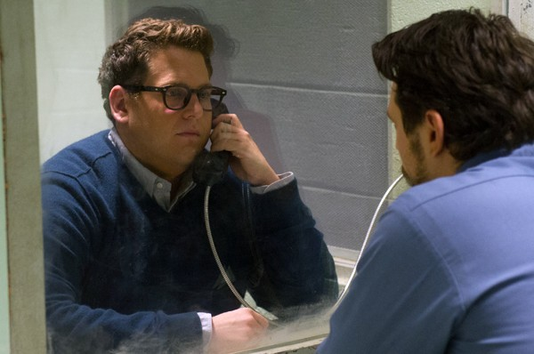 Jonah Hill as Finkel and James Franco as Longo in True Story