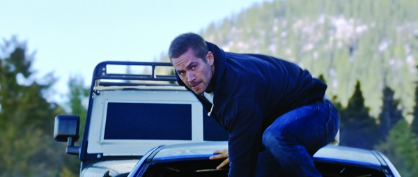 Paul Walker as Brian in Furious 7
