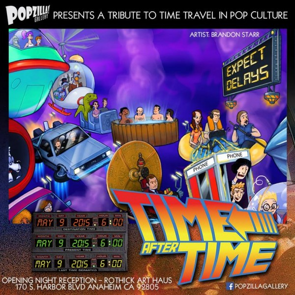 "POPzilla's ""TIME after TIME: A Tribute to Time Travel in Pop Culture"""