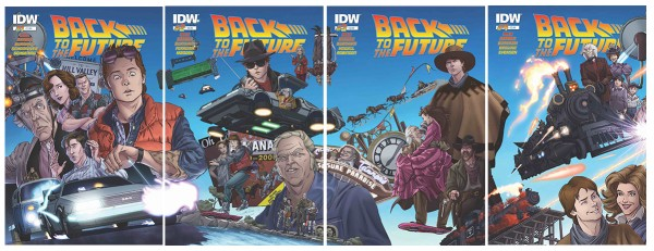 Win all four issues of IDW Publishings Back to the Future Comics