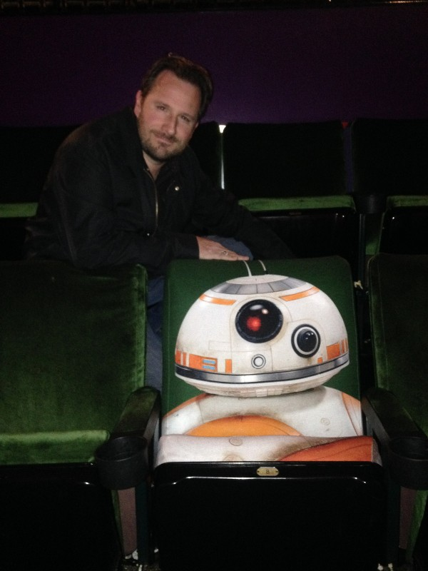 Steve Czarnecki and the BB-8 theater Seat