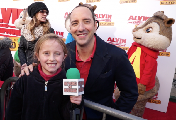 Actor Tony Hale and Lindalee Rose
