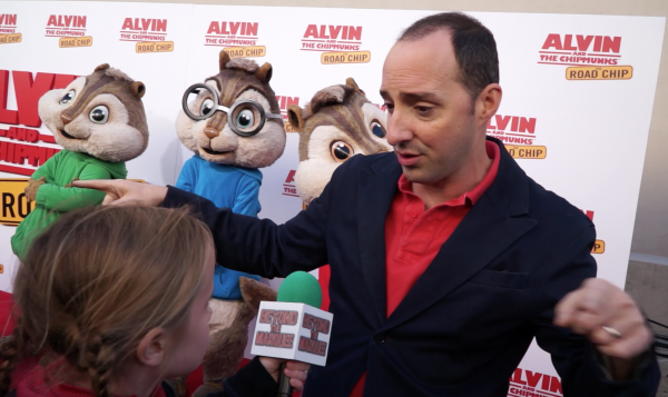 Why is Tony Hale's character chasing the Chipmunks in this movie? Lindalee finds out