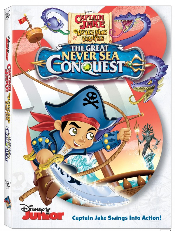 Captain Jake And The NeverLand Pirates The Great NeverSea Conquest on DVD