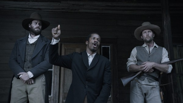 "Nate Turner's ""Birth of a Nation"" debuts at the 2016 Sundance Film Festival in Park City, Utah (pictured: Nate Parker, Armie Hammer and Jayson Warner Smith)"