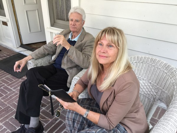 Lyman Ward and Cindy Pickett reflect on their roles as Katie & Tom Bueller while sitting on the porch of the iconic home in Long Beach, CA