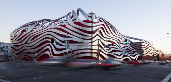 The Petersen Automotive Museum.