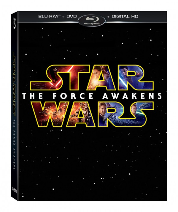 Star Wars the Force Awakens now on Blu-ray and DVD