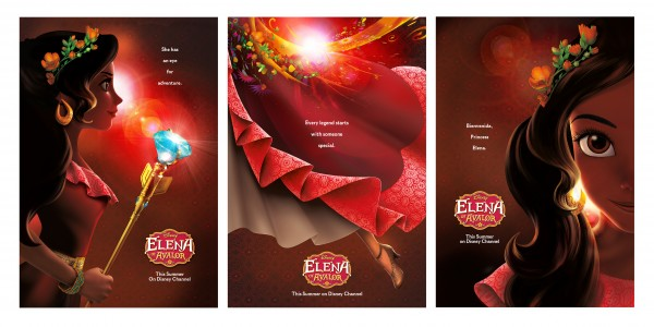 Teaser posters for Disney's 'Elena of Avalor'
