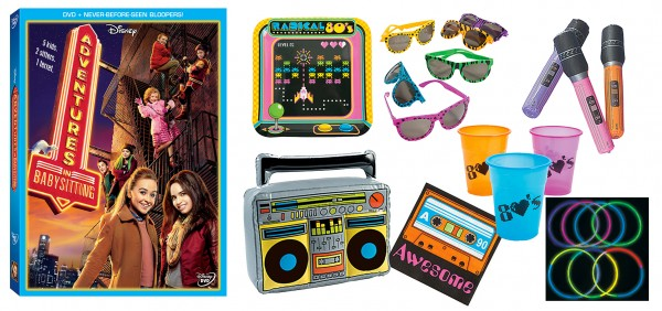 WIN All of this Awesome 'Adventures in Babysitting' goodness this week!