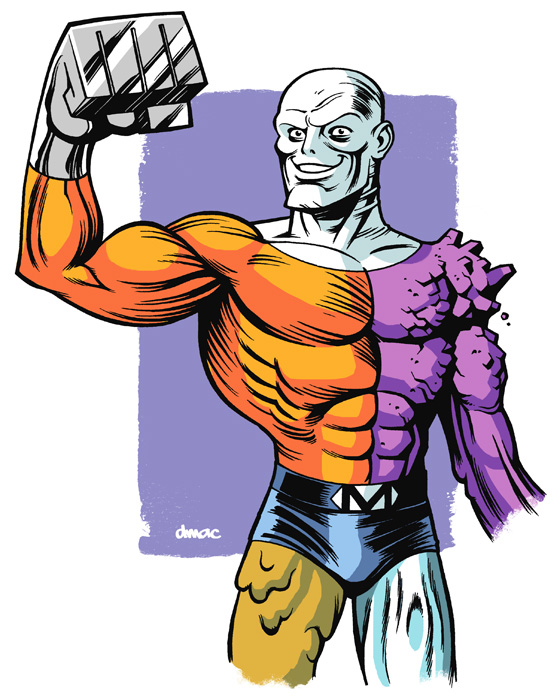Metamorpho -- The Element Man!