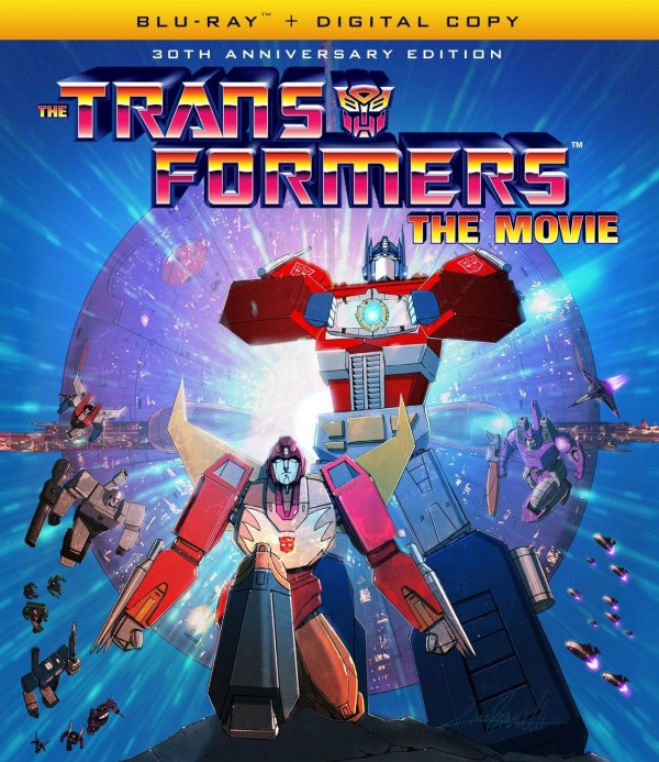 The 30th Anniversary of Transformers: The Movie, on Blu-ray Sept 13th