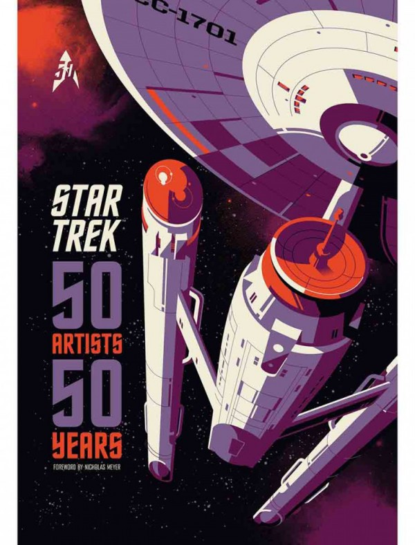 Star Trek: 50 Years, 50 Artists now available from Titan Books