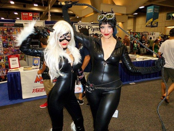 BTM Comic Con Correspondents Leslie Crystal and Lindsay Stanley.
