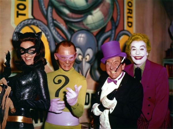 The villains of Batman!