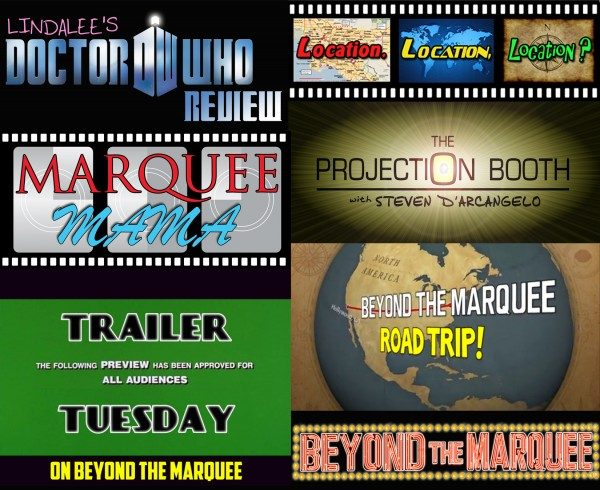 Some of the featured segments during the 1st five years of Beyond the Marquee.com