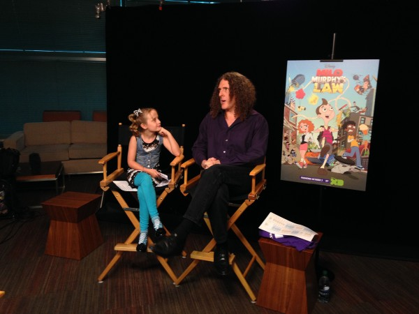 Lindalee & Weird Al Yankovic discuss Milo Murphys Law