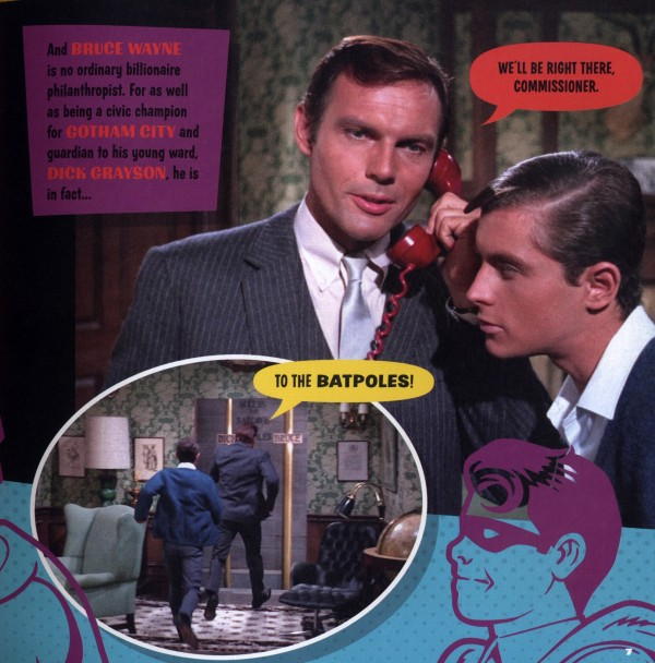 Bruce Wayne (Adam West) & Dick Grayson (Robin: the Boy Wonder)