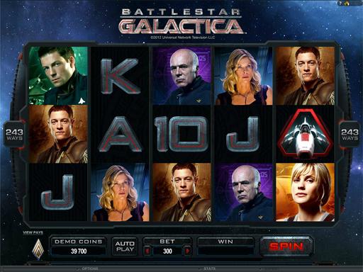 Battlestar Galactica: Online Slots