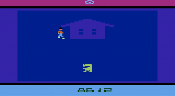 The Atari 2600 E.T. Video Game