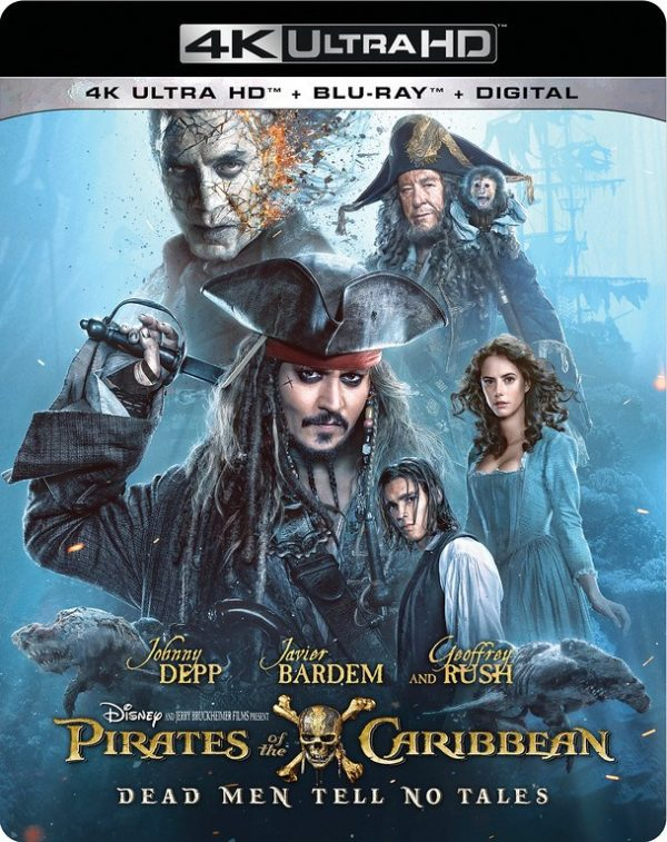 No on 4K Pirates of the Caribbean: Dead Men Tell No Tales